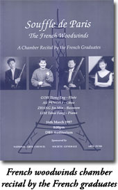 French chamber concert